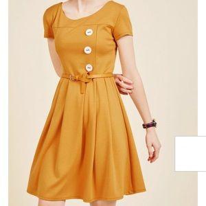 Modcloth Marigold A-Line Dress